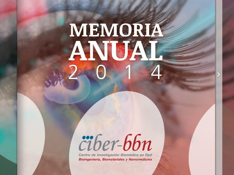 Memorias anuales Ciber 2014