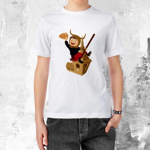 camiseta-nin-campanar-blanc