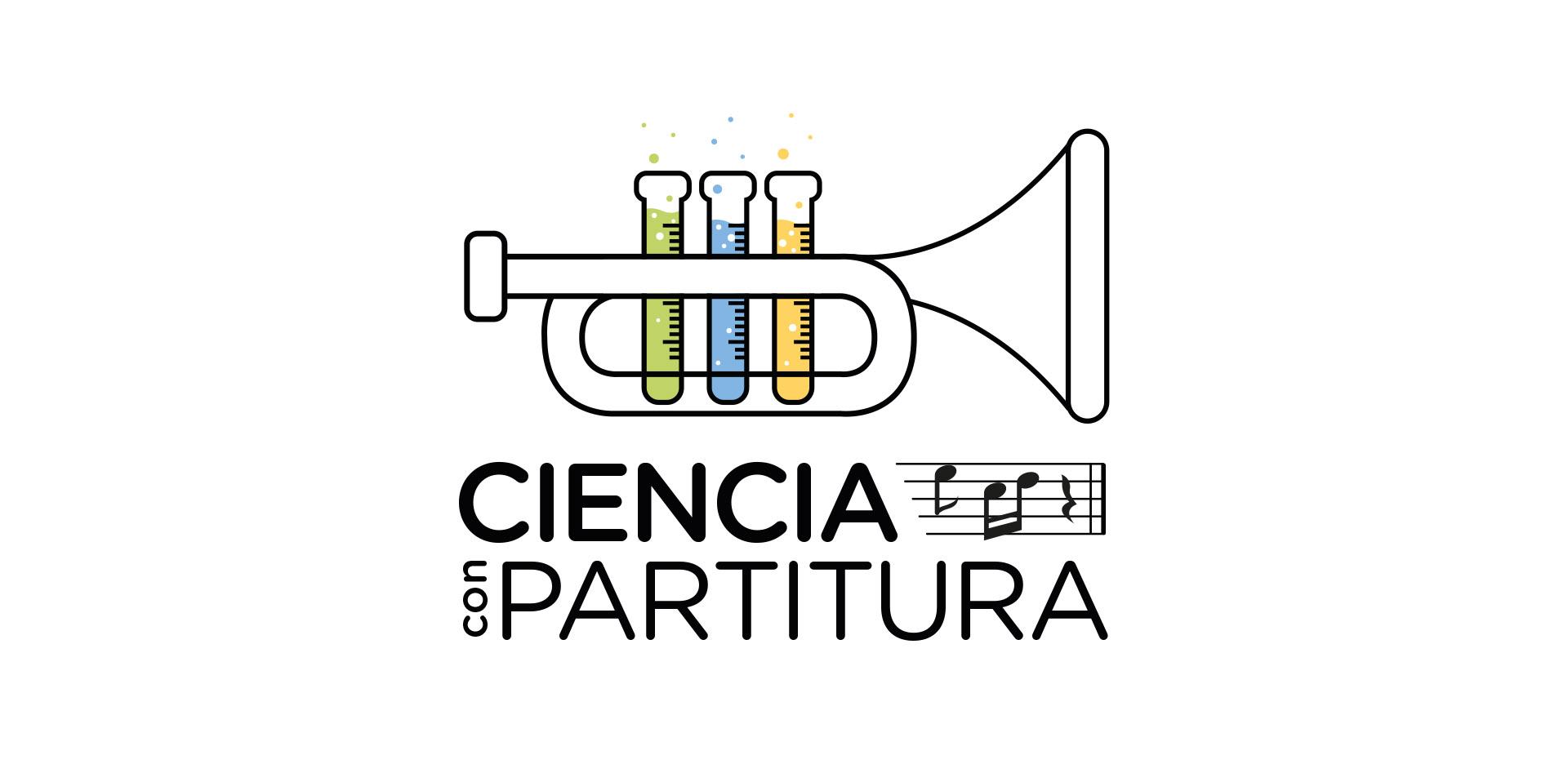Logotipo Ciencia con partitura