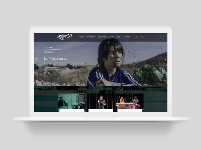 Website El Somni Produccions