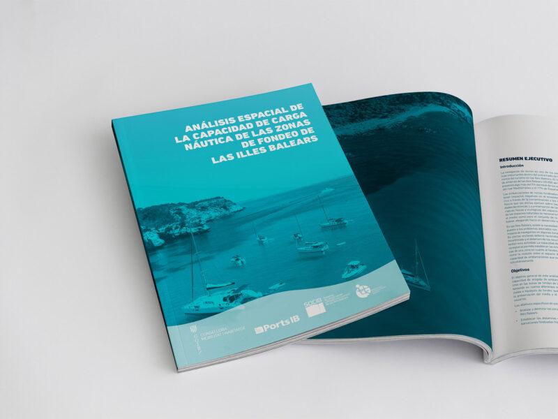 Informe de càrrega nàutica en zones de fondeig de les Balears